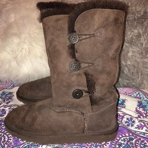 BROWN TALL UGG BAILEY BOOT SIZE 6